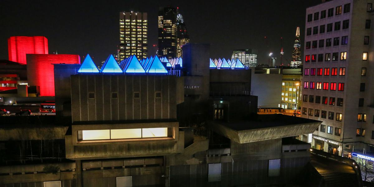 David Batchelor: Sixty Minute Spectrum at Hayward Gallery Credit: Pete Woodhead