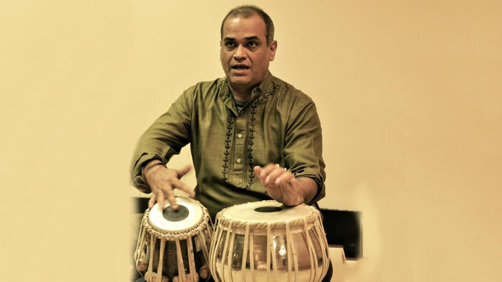 Pandit Rajkumar MIsra, tabla player