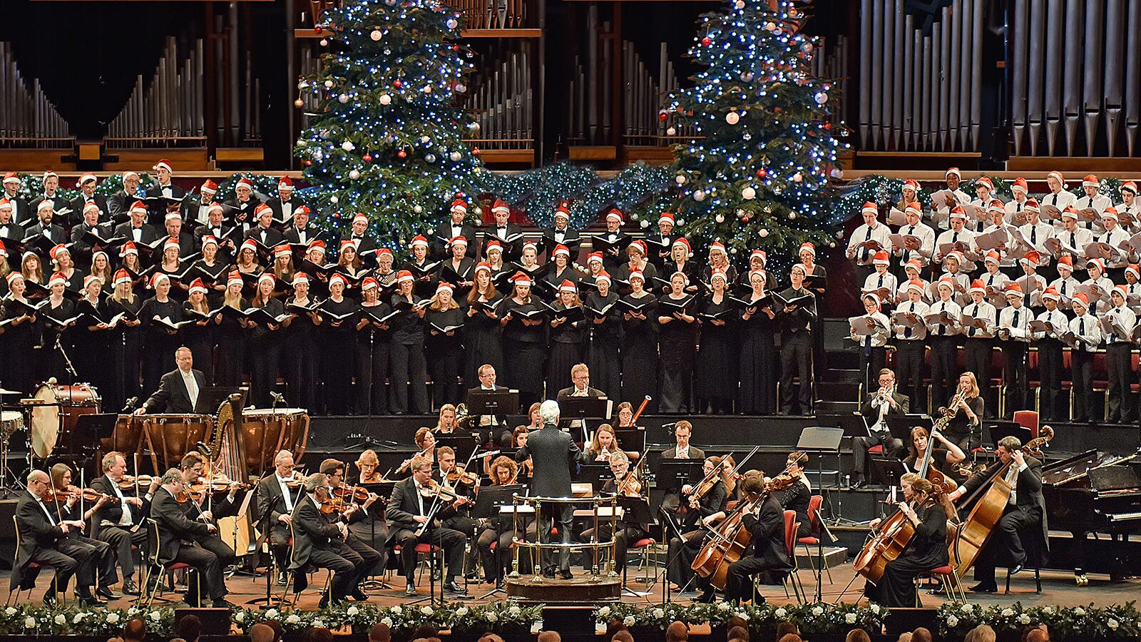 Christmas concert in Royal Festival Hall