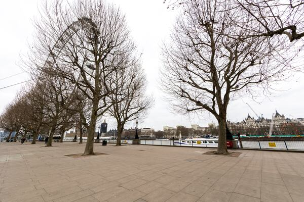 Queens Walk at Southbank Centre