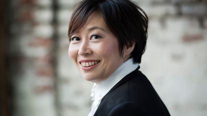 Xian Zhang.Harrison Parrott.HMU Elizabeth Rita / assistant Mariona Vilaros / studio Ermine London.15 October 2015