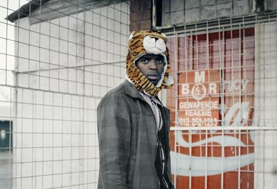 Thabiso Sekgala, Tiger, 2012. Inkjet fibra print, 70x70cm. Courtesy of the artist and Goodman Gallery.