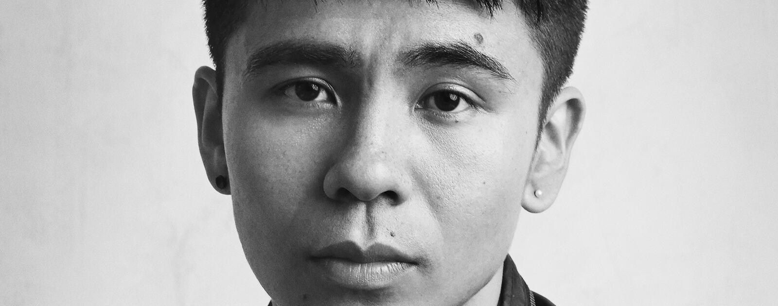 Headshot of Ocean Vuong, American poet