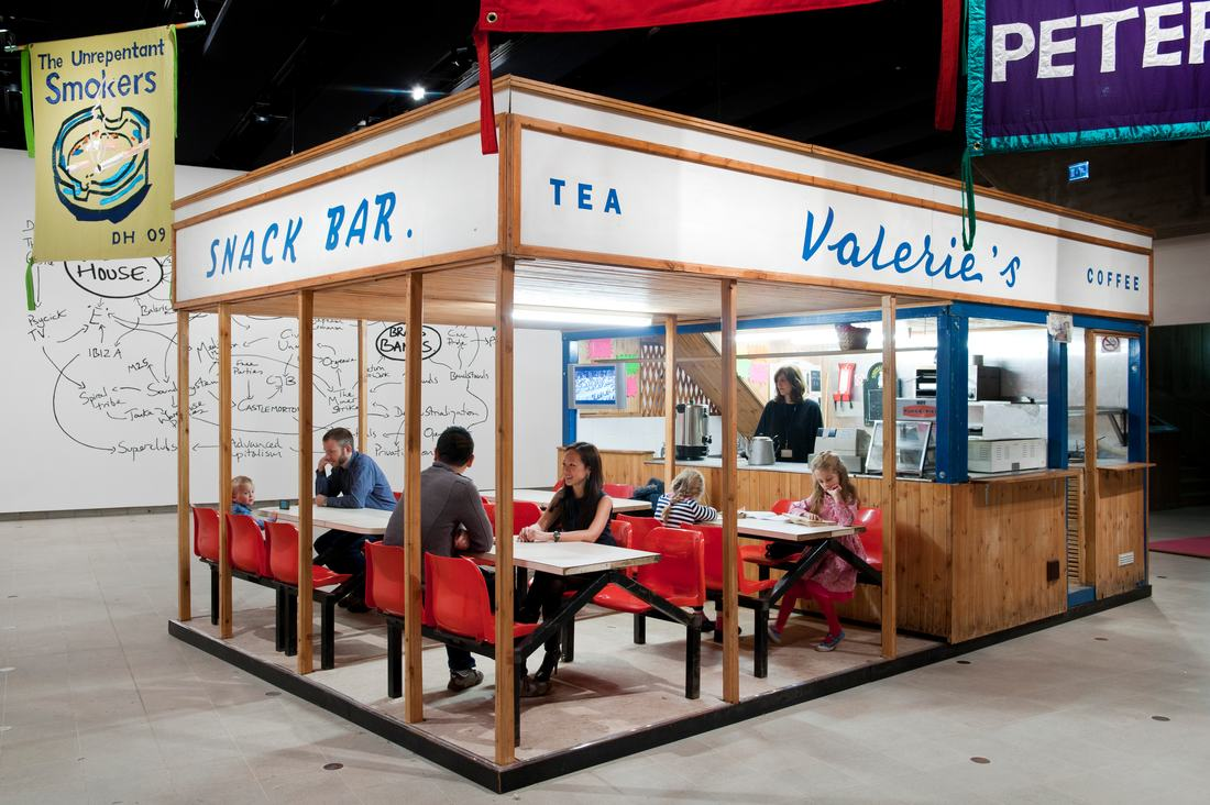 Deller_Valerie's Snack Bar (2009). PHoto Linda Nylind