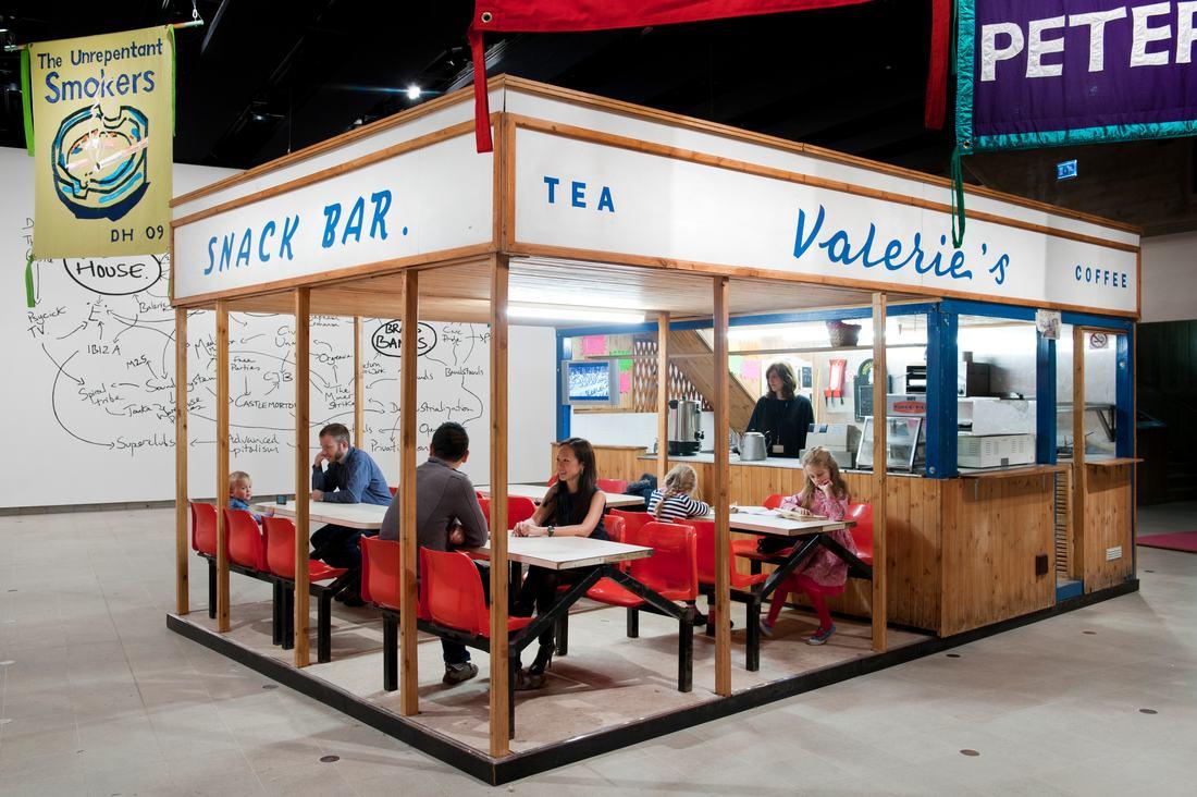 Deller_Valerie's Snack Bar (2009). PHoto Linda Nylind