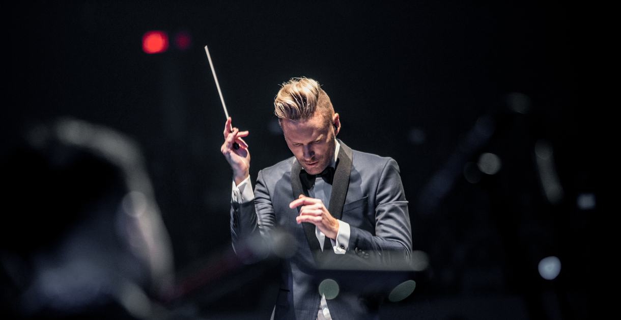 Brian Tyler, conductor
