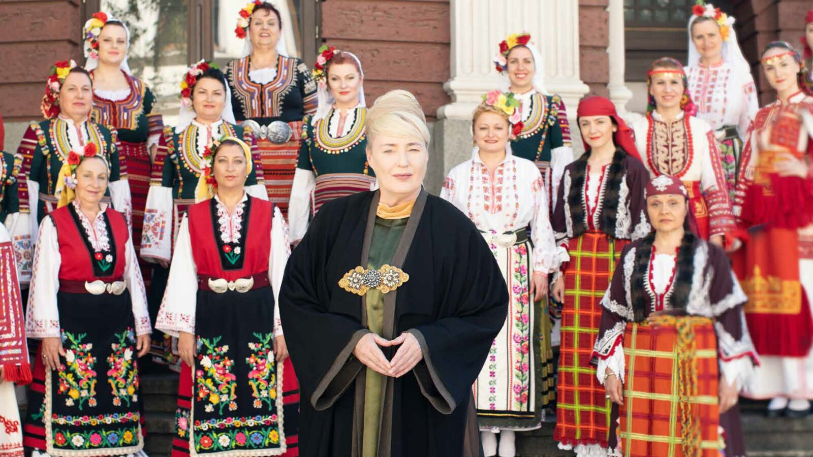 Lisa Gerrard with The Mystery of the Bulgarian Voices