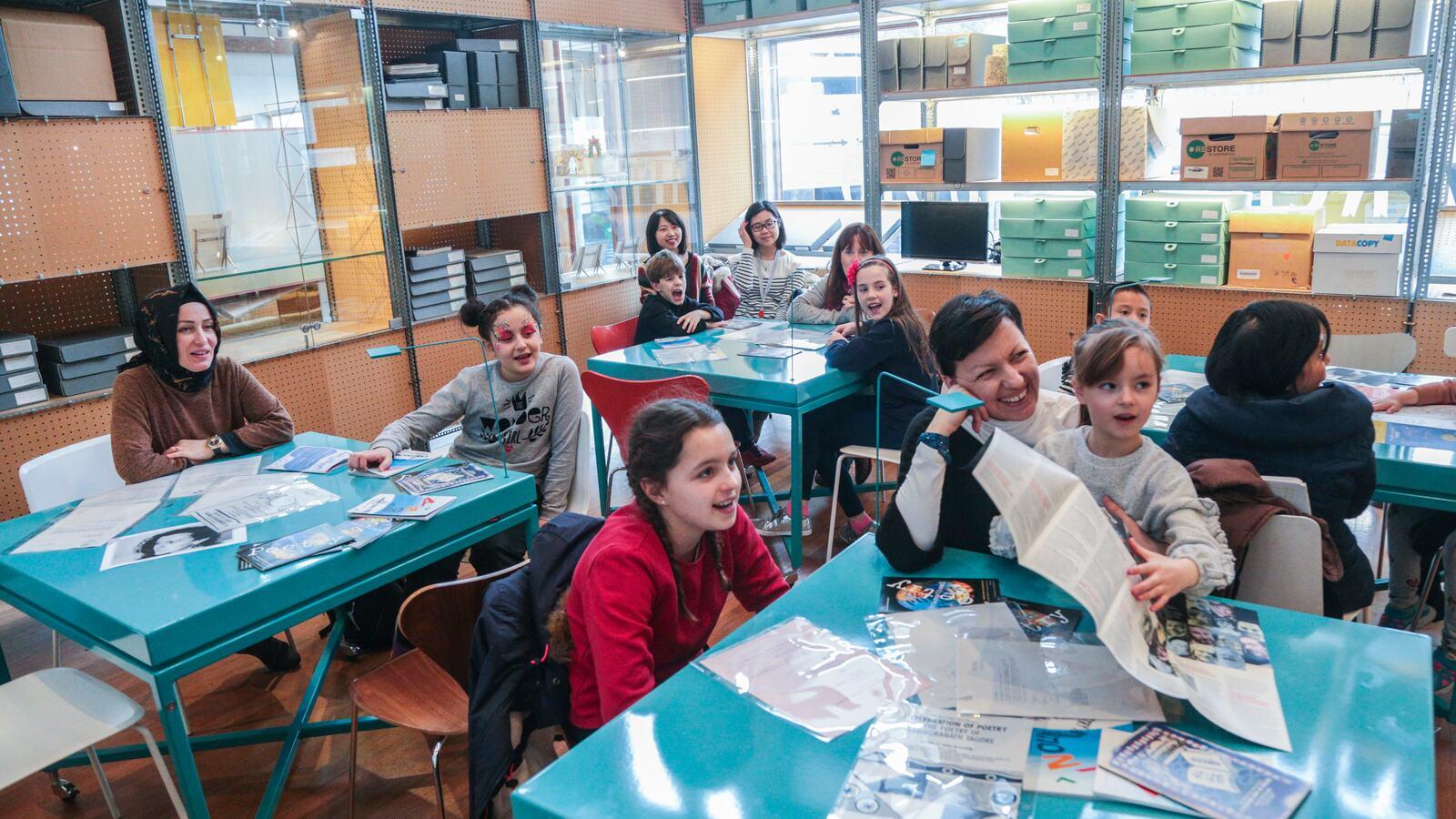 Schools workshop at Southbank Centre