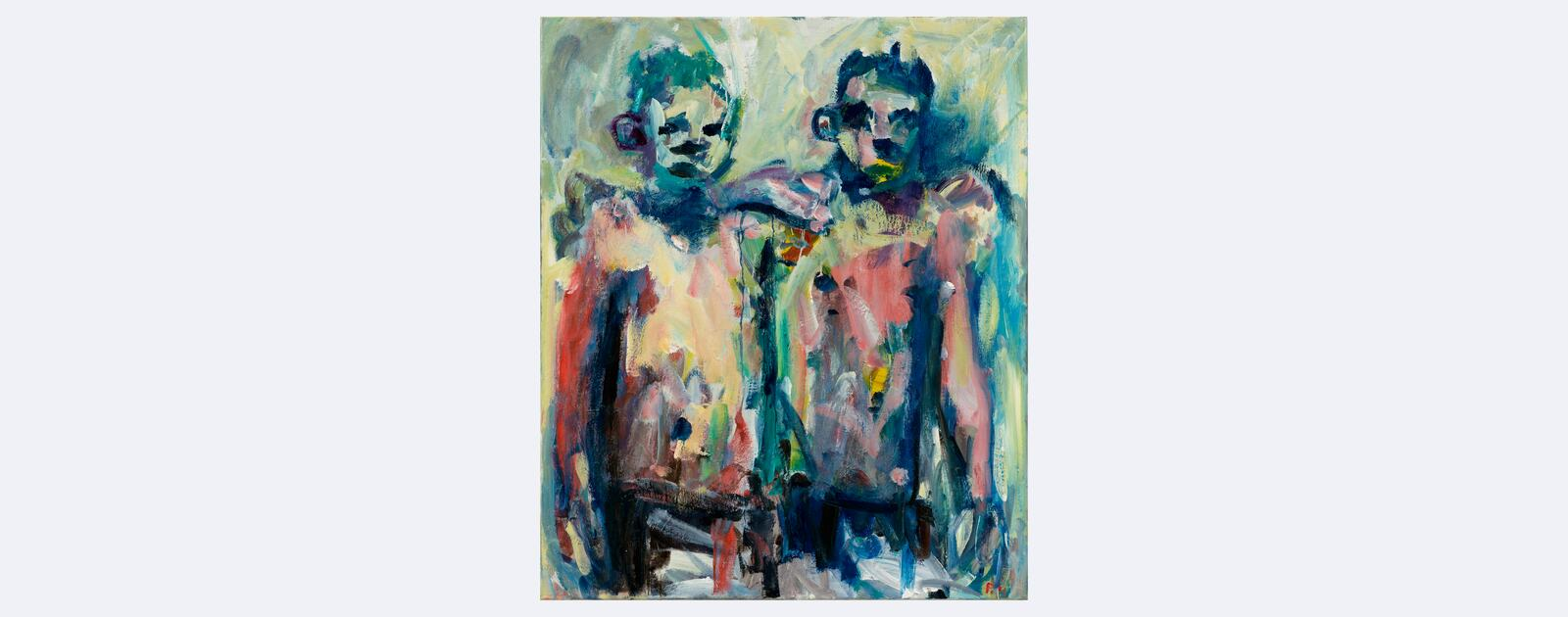 Paul Housley, Two Painters, 2019