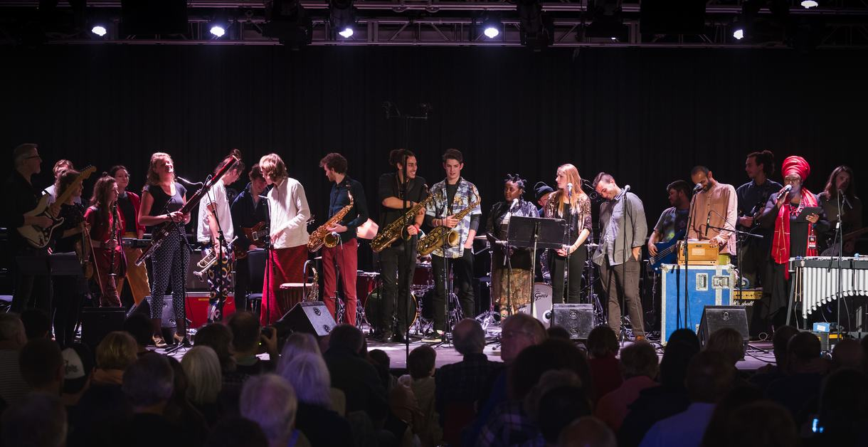 Next Generation Takes Over, young musicians on stage