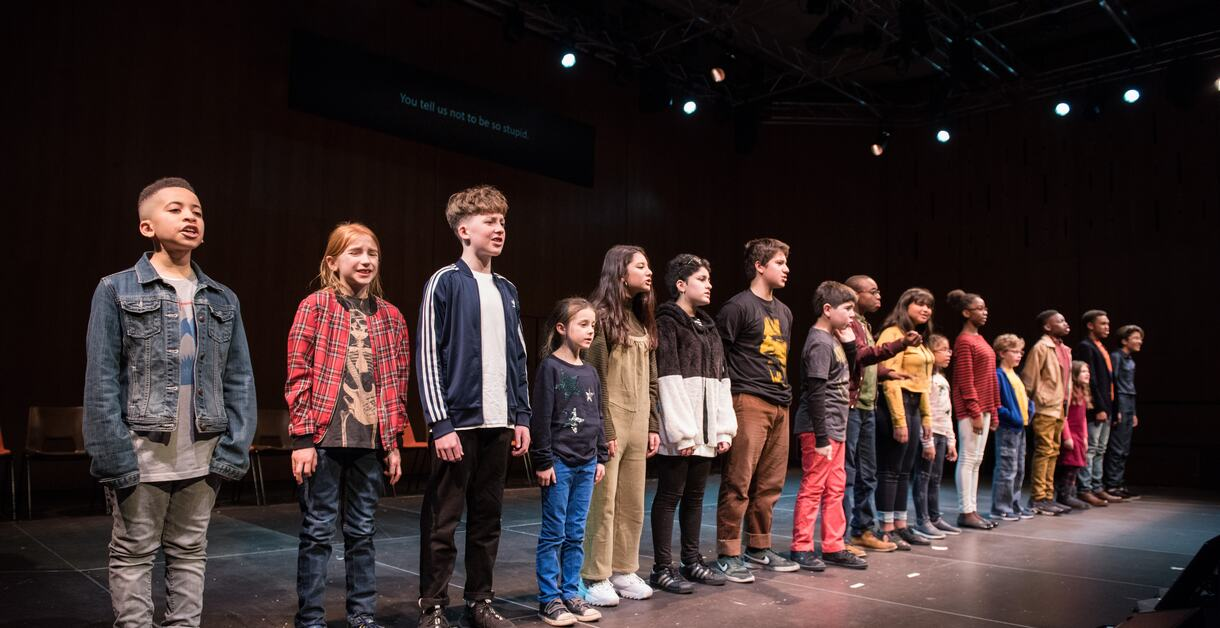 Photo of a performance from That Night Follows Day at Southbank Centre