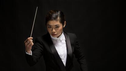 Elim Chan, conductor