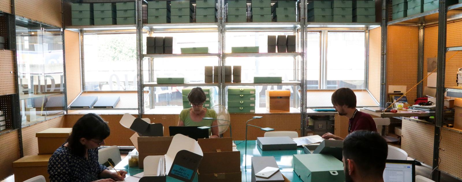 Southbank Centre Archive.Researchers and Staff.August 2016