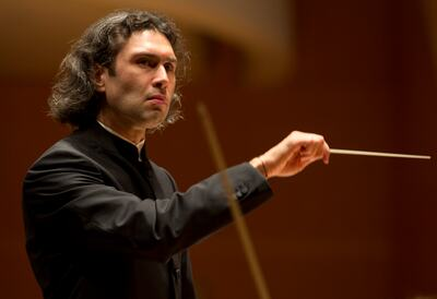 Portrait of Conductor, Vladimir Jurowski