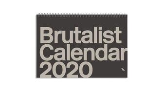Brutalist 2020 Calendar front cover