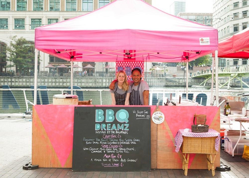BBQ Dreamz street food stall