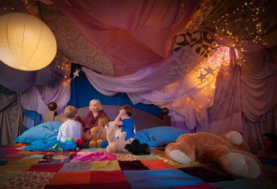 Photo of the Time for Bed event at Southbank Centre's Imagine festival