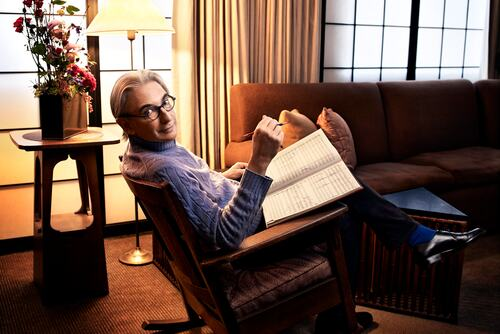 MIchael Tilson Thomas, conductor, pianist and composer