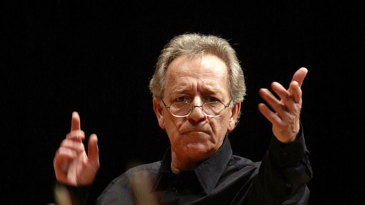 Conductor, Yuri Temirkanov