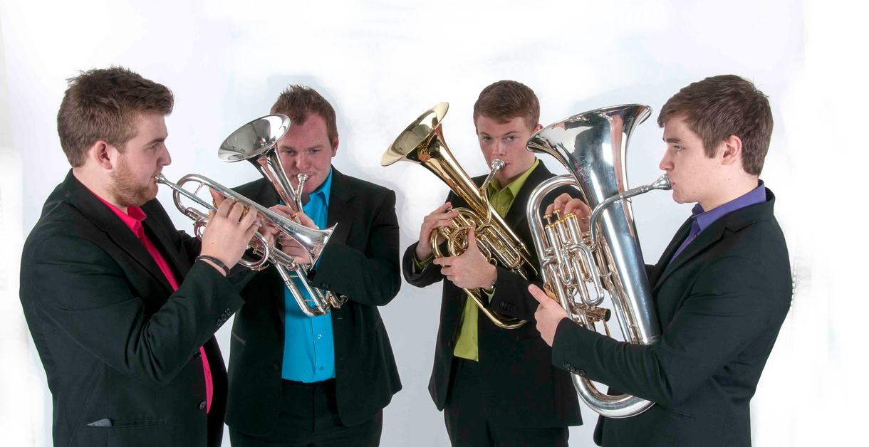 Photo of brass quartet