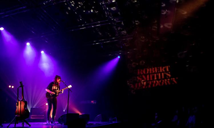 Emma Ruth Rundle performs in Southbank Centre's Purcell Room at Robert Smith's Meltdown