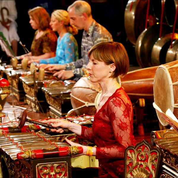 Gamelan Winter Chimes, image credit Sheila Burnett
