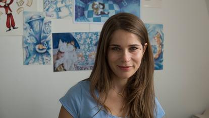 Nadine Kaadan, Illustrator