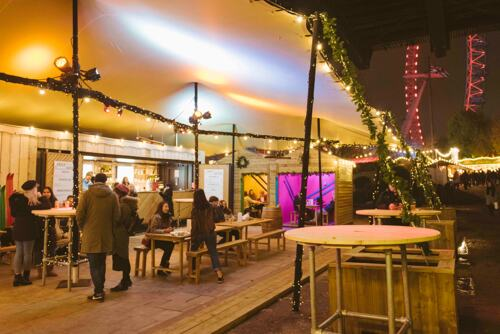 Bar Under the Bridge at Southbank Centre