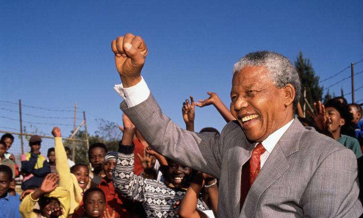 Nelson Mandela visits Hlengiwe