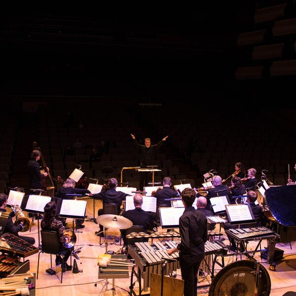 London Sinfonietta performing on stage