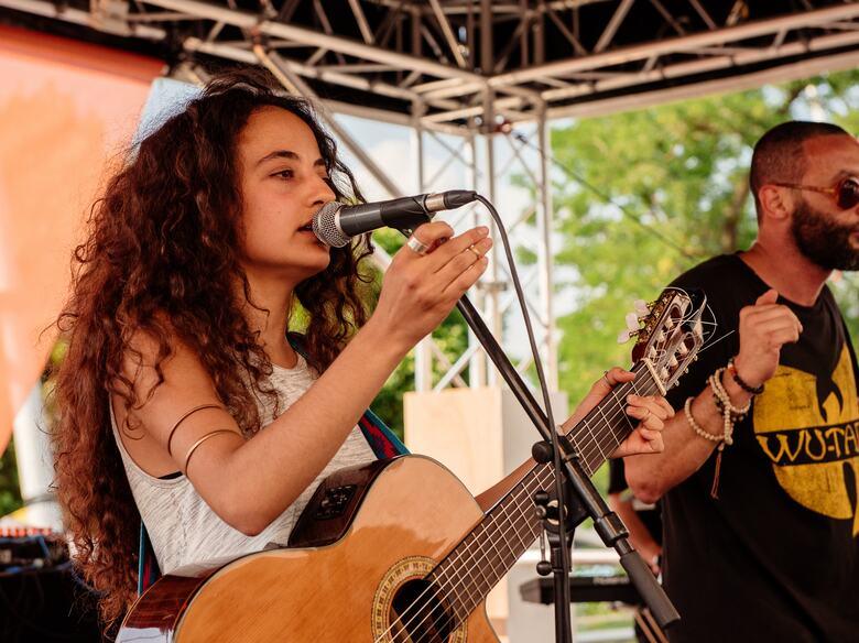 Refugee Week Performers at M.I.A.'s Meltdown Festival