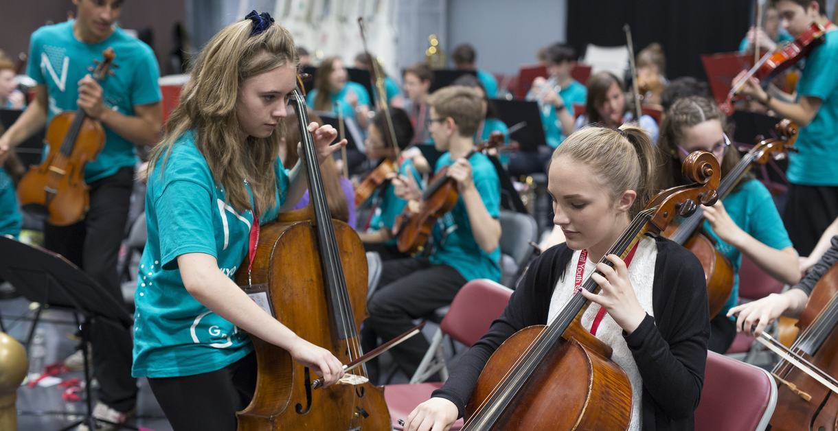 National Youth Orchestra of Great Britain, Birmingham, U.K. Sunday, July 10, 2016. Photographer: Jason Alden ..Photographer: Jason Alden.www.jasonalden.com.0781 063 1642