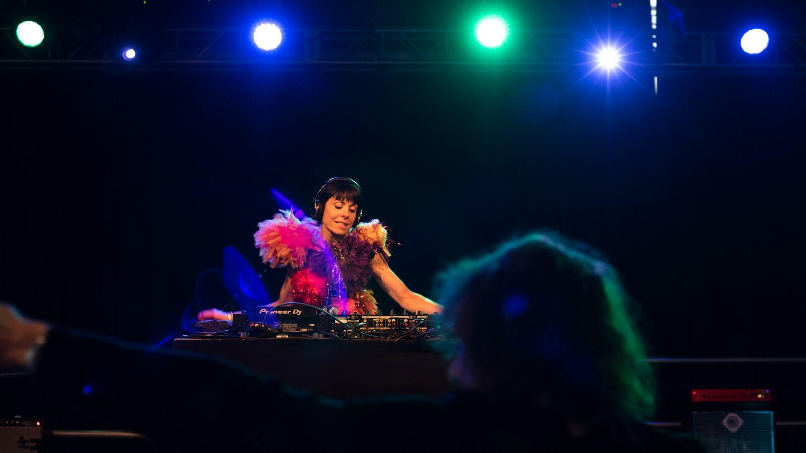 Anna Greenwood, DJ