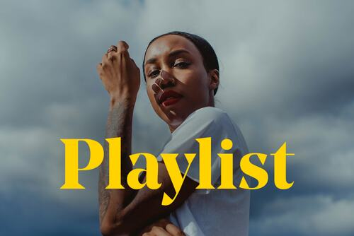 Musician Ego Ella may stands behind the word 'playlist'