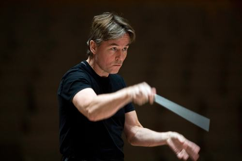 Esa-Pekka Salonen.Principal Conductor and Artistic Advisor .Philharmonia Orchestra.Royal Festival Hall 080918