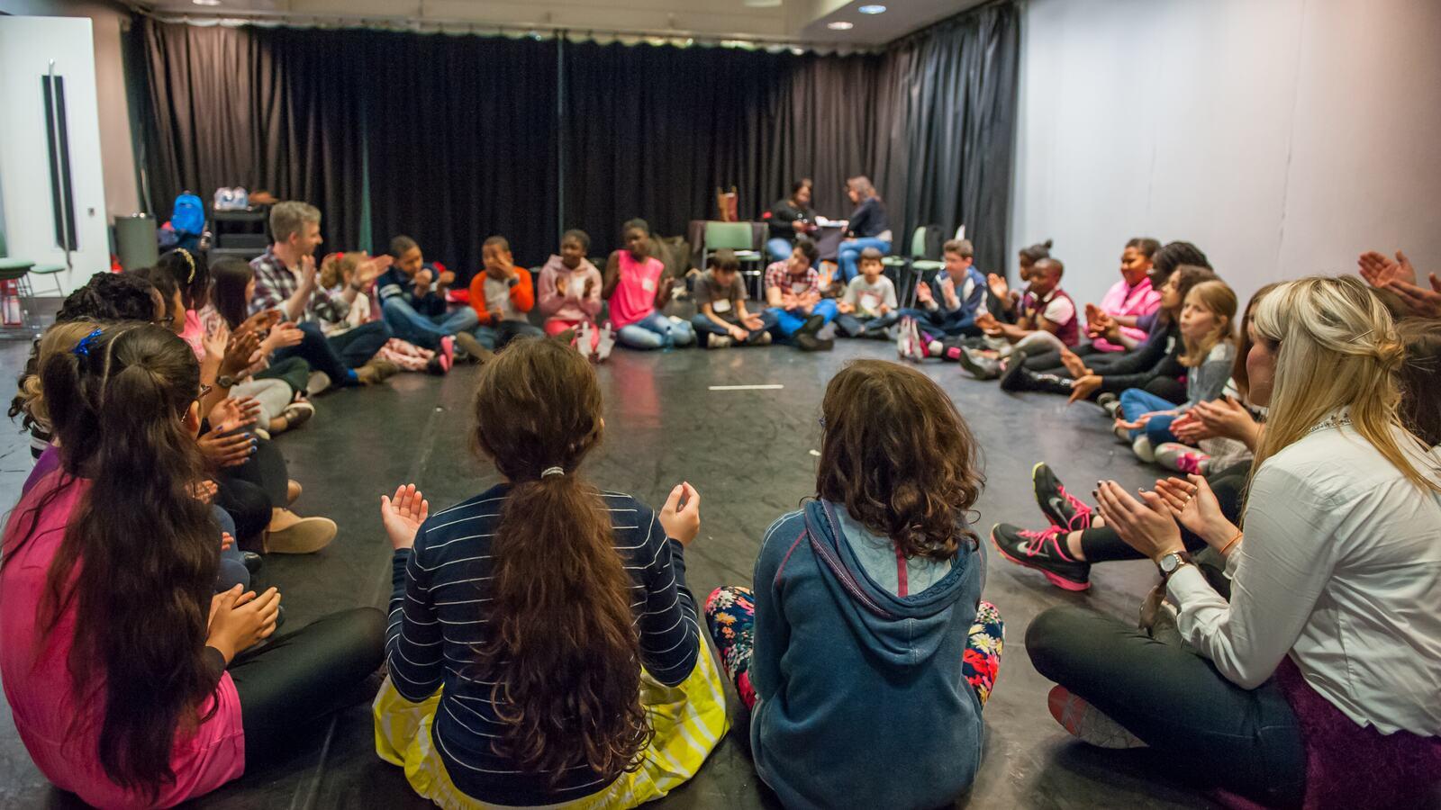 The Rattler workshop, 30 October 2015, Southbank Centre.