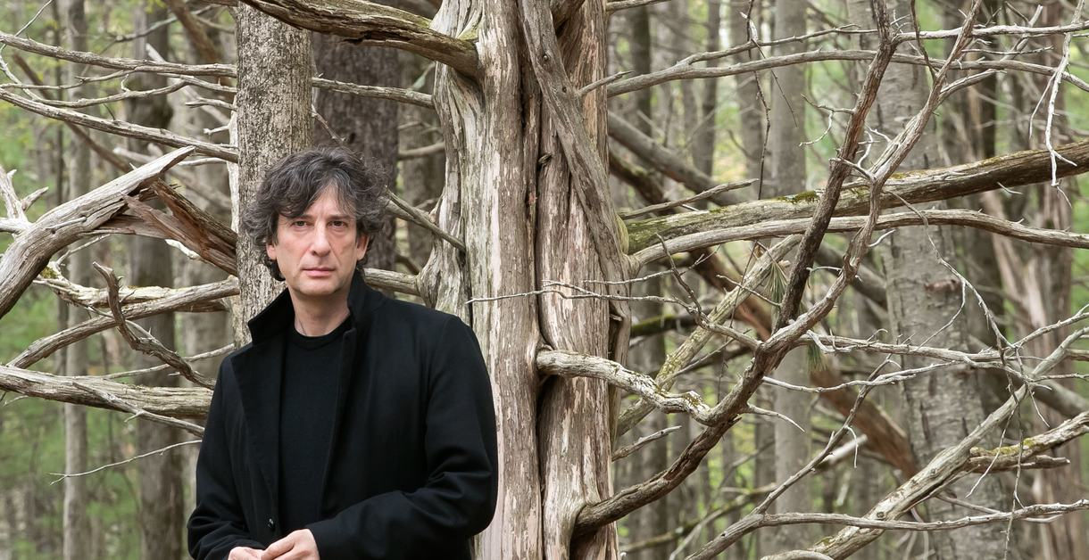 Neil Gaiman by Beowulf Sheehan
