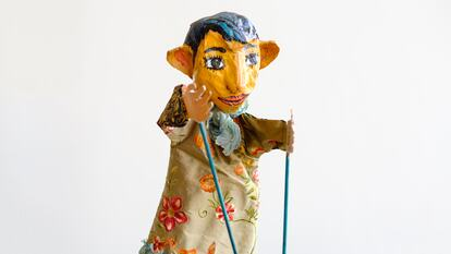 Rug Rhymes puppet at Southbank Centre