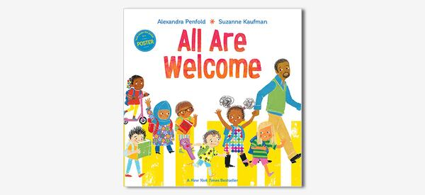 Front cover of the book All Are Welcome Here by Alexandra Penfold