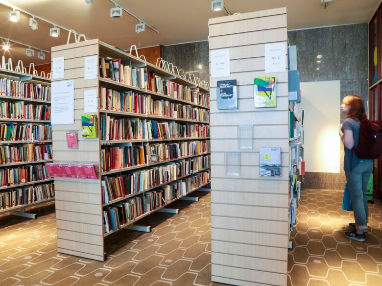 The Poetry Library at Southbank Centre