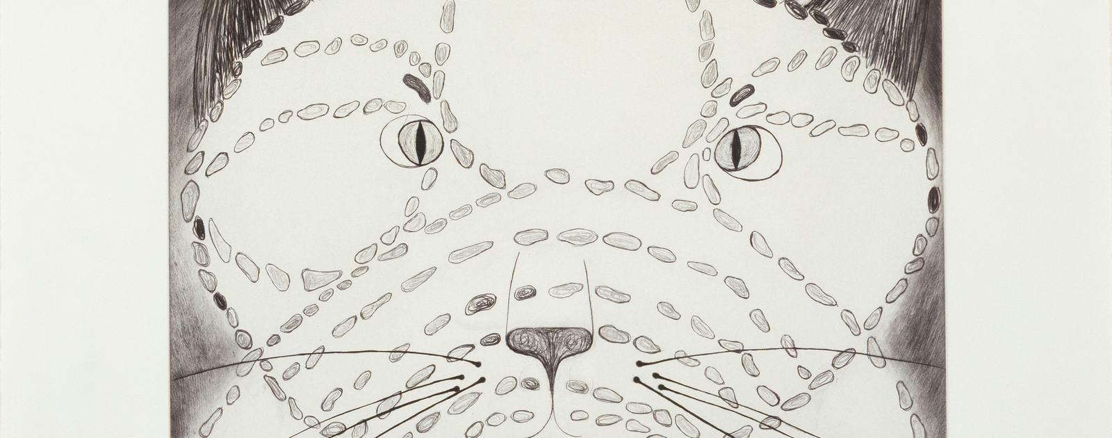 Louise Bourgeois THE ANGRY CAT, 1999 LOUISE BOURGEOIS PRINTS: AUTOBIOGRAPHICAL SERIES AND SET OF 11 DRYPOINTS