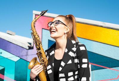 Jess Gillam, saxophonist