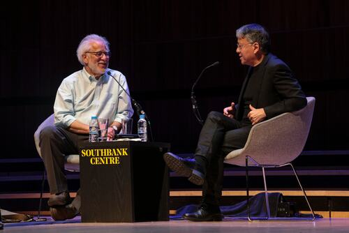 Authors, KAZUO ISHIGURO & MICHAEL ONDAATJE in conversation