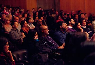 An audience at Southbank Centre