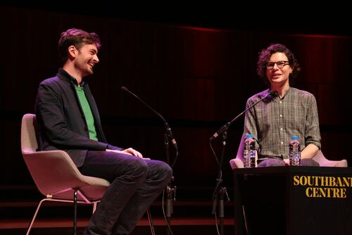 Simon Amstell in conversation with Ted Hodgkinson