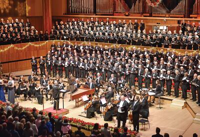 Messiah concert in Royal Festival Hall