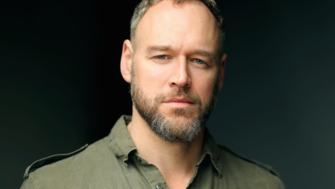 Elliott Cowan, actor, appearing at The Odyssey Live Readings