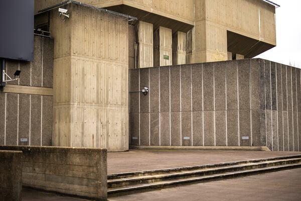 Southbank Centre External Spaces, concrete building