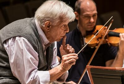 Christoph von Dohnanyi, conductor
