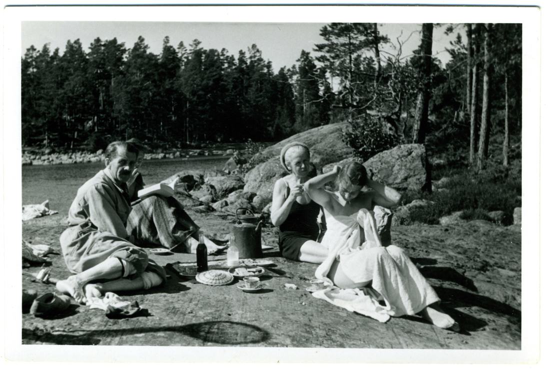 Tove Jansson family photo